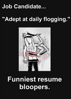 Infographic: Top 10 Funny Resume Mistakes WOOGIE